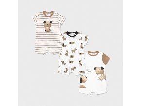 set of 3 knit pyjamas for newborn boy id 21 01637 035 800 4