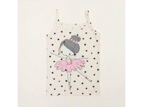 e21k 84a1011734 decija zenska majica bretele balerina 1