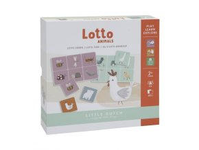 Lotto se zvířátky Little Dutch