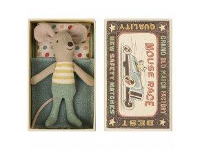 Malý myší bráška v krabičce Maileg