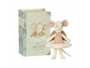 Anděl myška v knize Maileg