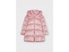 Zimní prošívaný kabát světle růžový MINI Mayoral