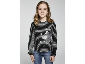shirt langarm streifen teenager madchen id 11 07081 029 L 2