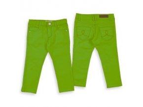 Kalhoty riflové basic zelené MINI Mayoral