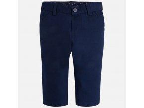 Kalhoty plátěné tmavě modrá NEWBORN Mayoral