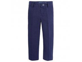 Kalhoty společenské tmavě modré vzor MINI Mayoral