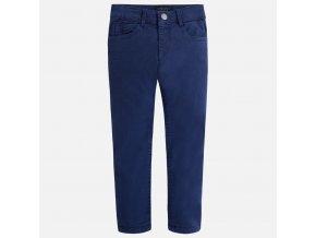 Kalhoty zateplené tmavě modré MINI Mayoral