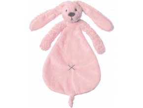 Přítulka králíček Richie růžový 25 cm Happy Horse