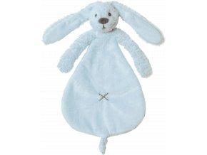 Přítulka králíček Richie modrý 25 cm Happy Horse