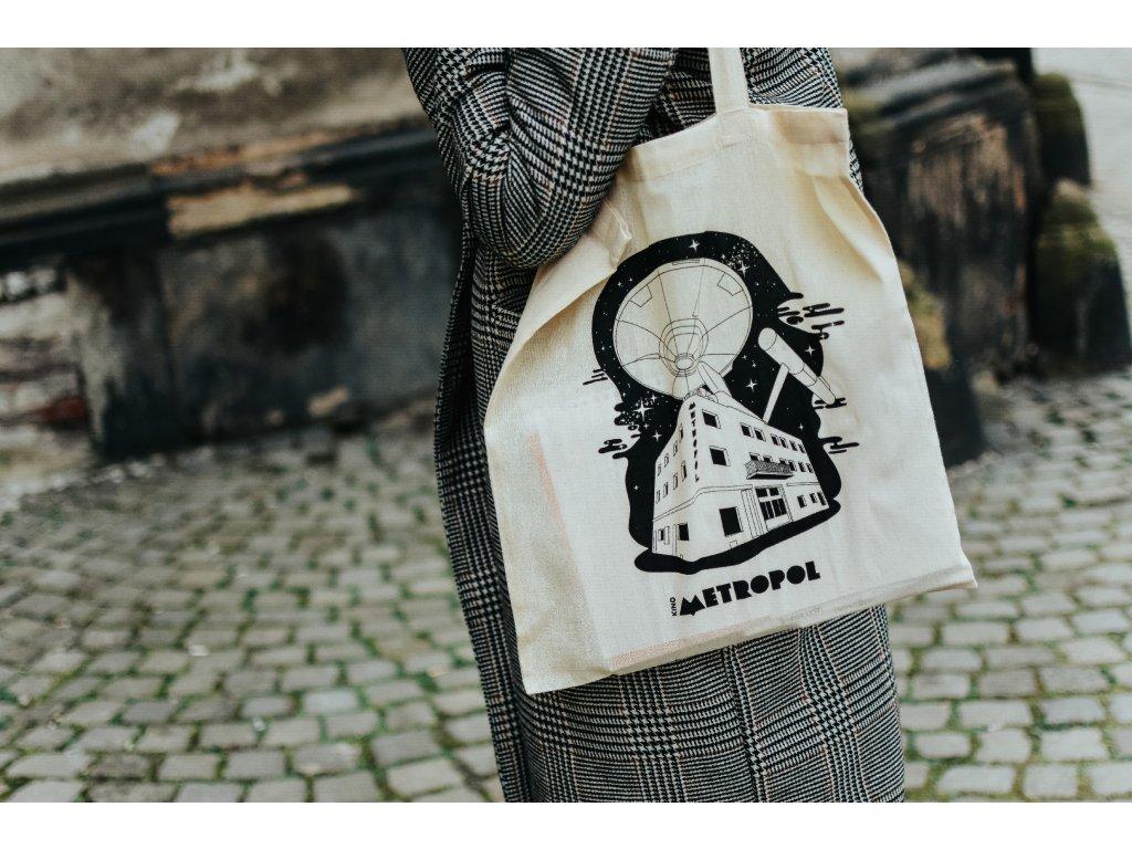 Plátěná taška bílá – Enterprise