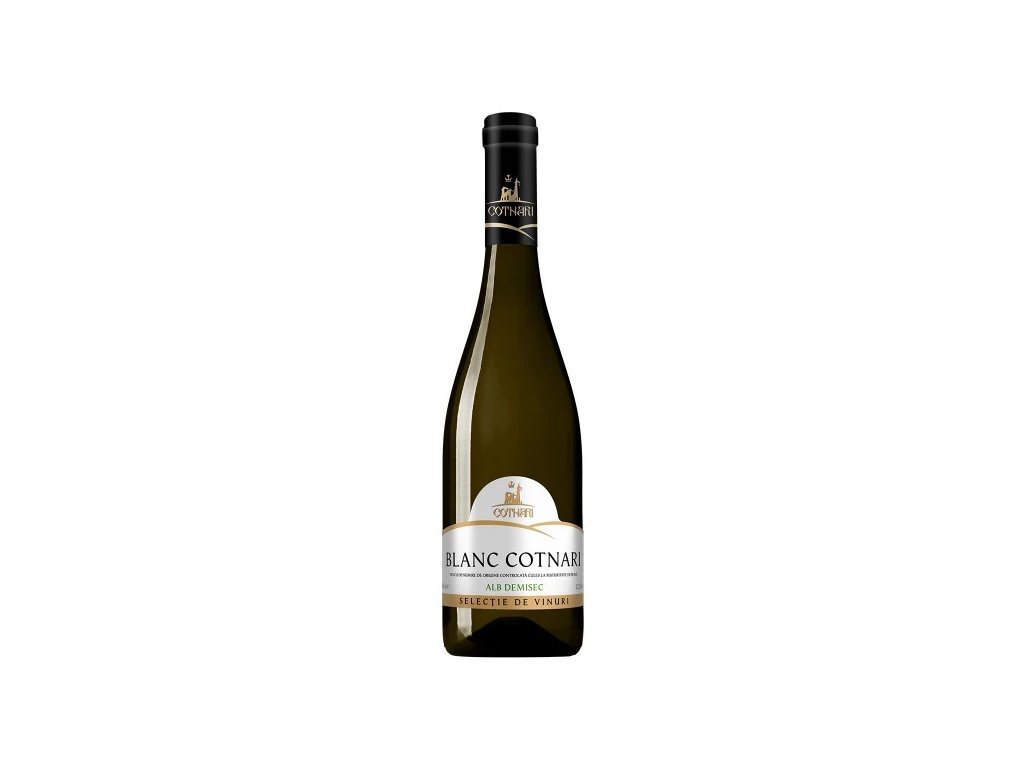 Selectie Blanc Cotnari, bílé, polosuché, 750ml