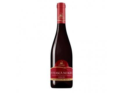 Selectie Feteasca Neagra, červené, suché, 750ml