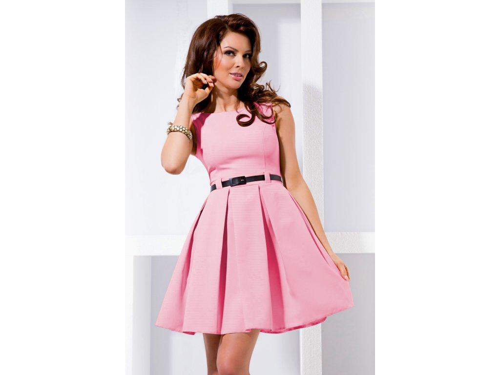 2811d79599b Společenské šaty Tessy II světle růžové - Levné společenské a ...