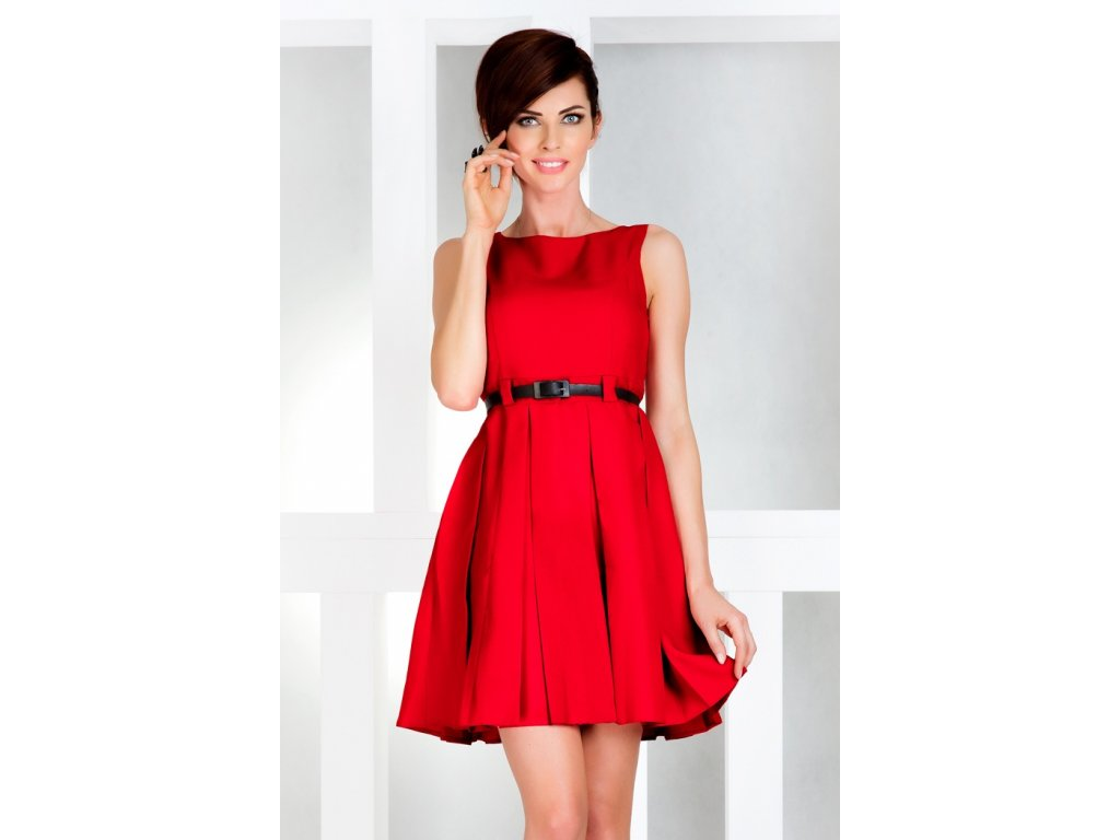 Společenské šaty Tessy II červené - Levné společenské a plesové šaty ... 8753362ba5