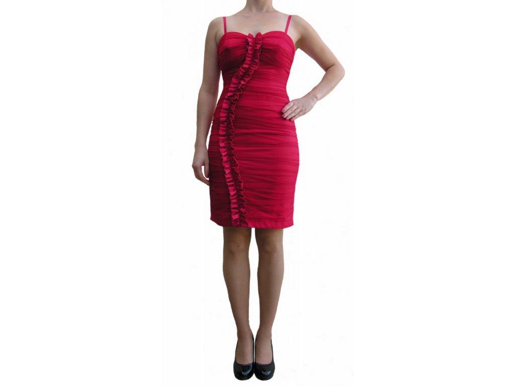 Společenské šaty Joetta červené - Levné společenské a plesové šaty ... e920b02453