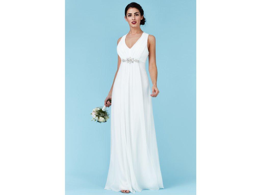 Luxusní svatební šaty Florentina bílé - Levné společenské a plesové ... 34c03a36fa