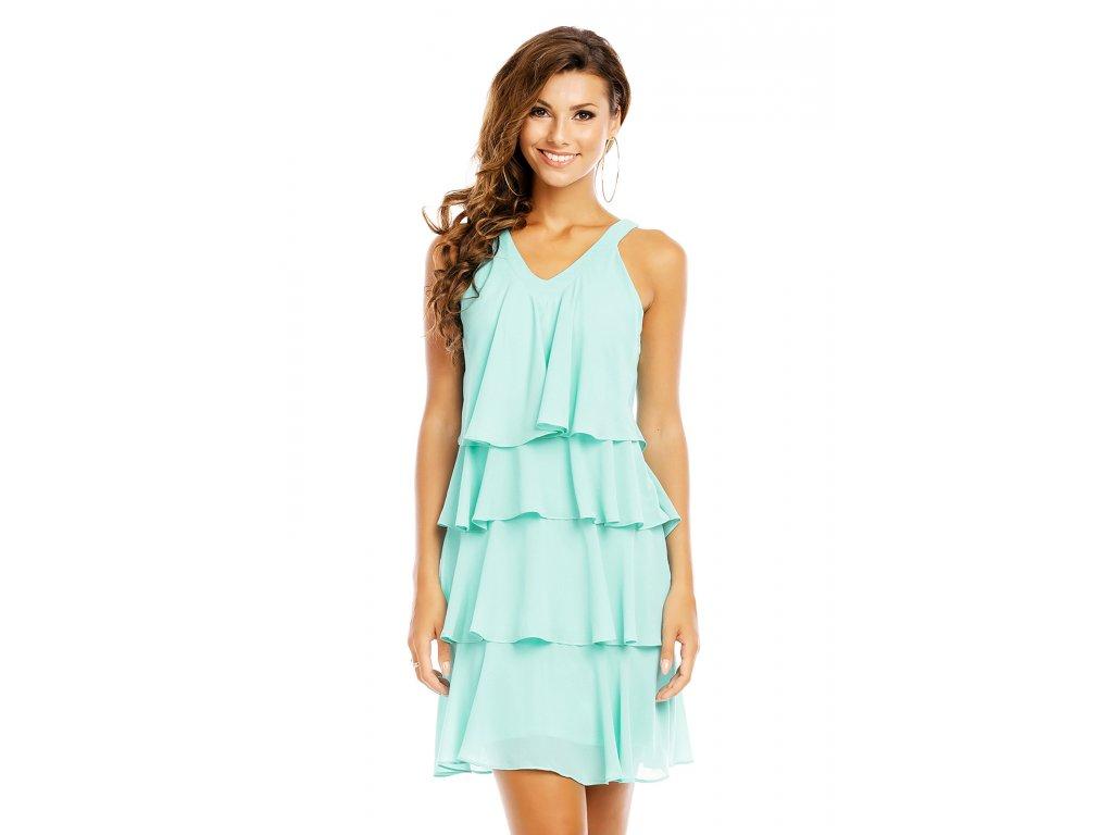 358517ddfe Společenské šaty Azalea mentolové - Levné společenské a plesové šaty ...