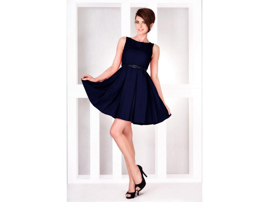 Společenské šaty Tessy II tmavě modré - Levné společenské a plesové ... 3c66a91e42