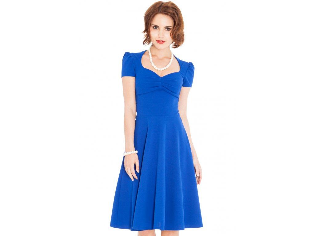 Společenské šaty Darnell modré - Levné společenské a plesové šaty ... cc55f33415