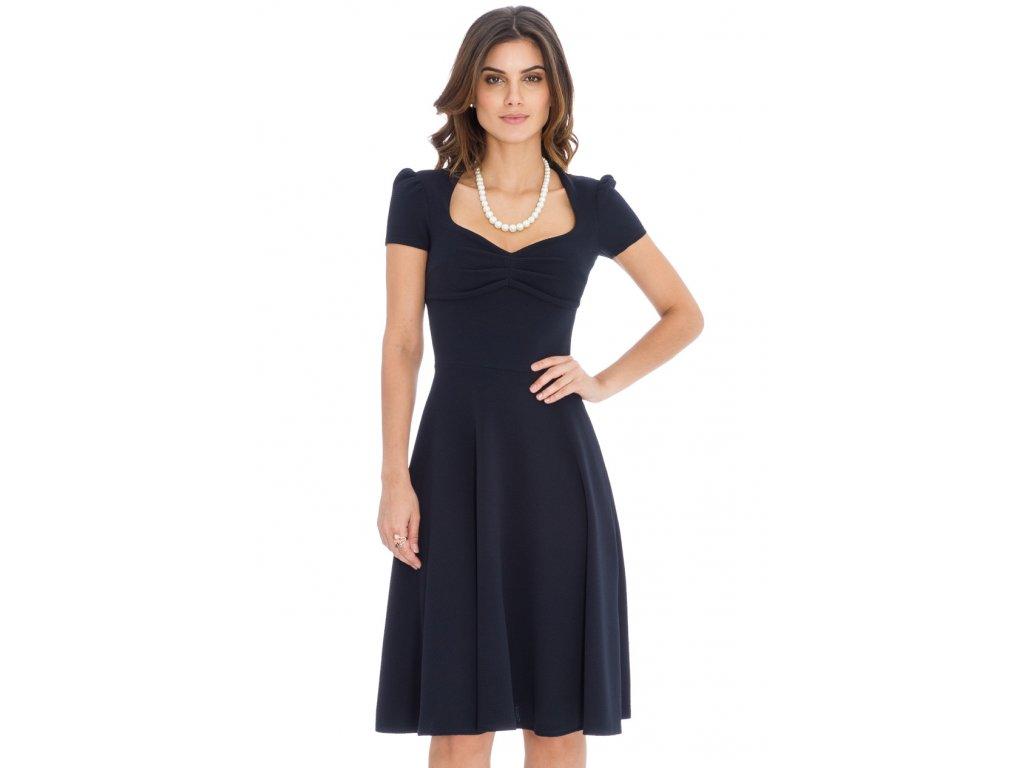 Společenské šaty Darnell tmavě modré - Levné společenské a plesové ... 483867b7e9
