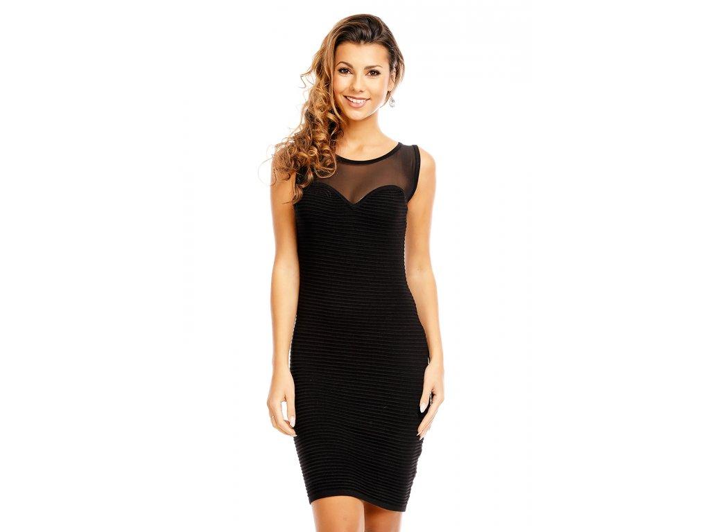 3ba9918d10e Společenské šaty Tianna černé - Levné společenské a plesové šaty ...