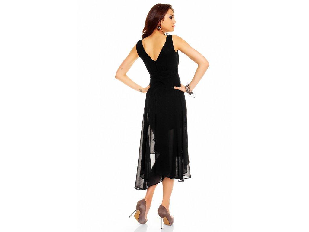 13aa0514ae3 Plesové šaty Rosetta černé - Levné společenské a plesové šaty ...
