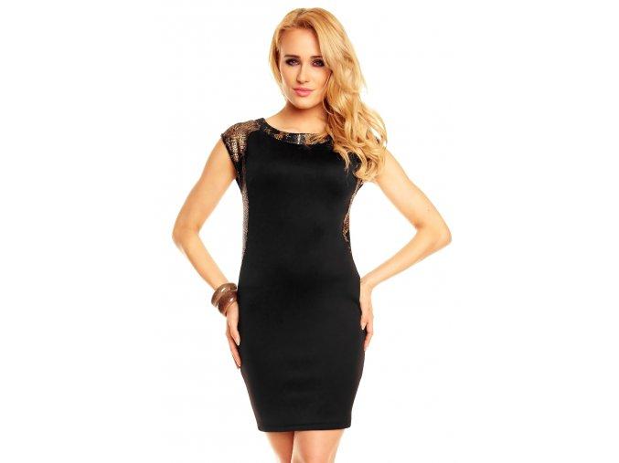 Společenské šaty Cassie černé