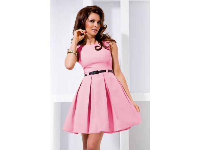 Společenské šaty Tessy II světle růžové