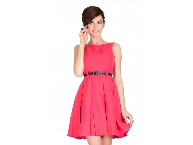 Společenské šaty Tessy II lososové