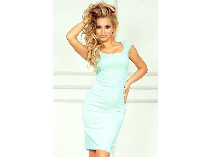 Společenské šaty Perry azurové