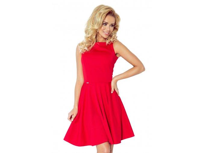 Koktejlové šaty Monnie červené