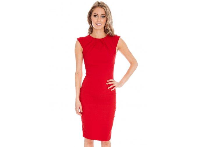 Společenské šaty Haydee červené