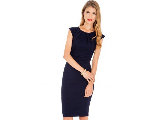 Společenské šaty Haydee tmavě modré