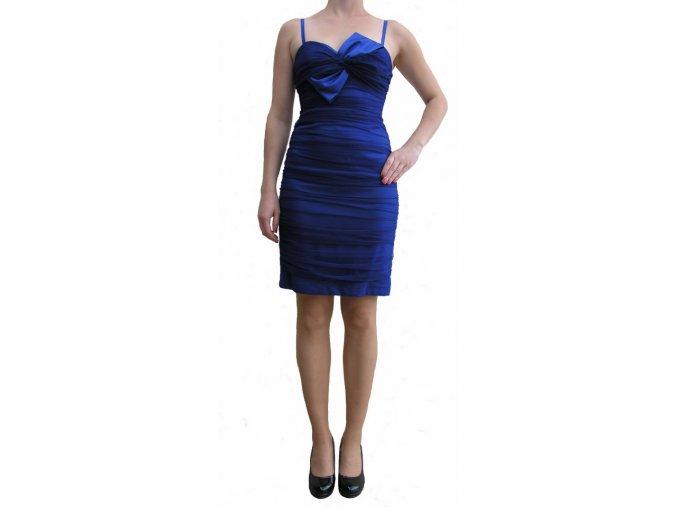 Společenské šaty Leanna modré