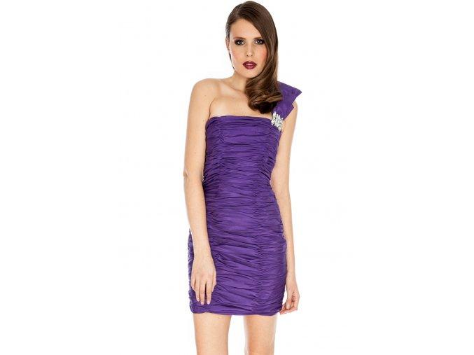 Společenské šaty Kerstin fialové