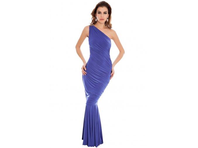 Plesové šaty Jasmine fialovomodré