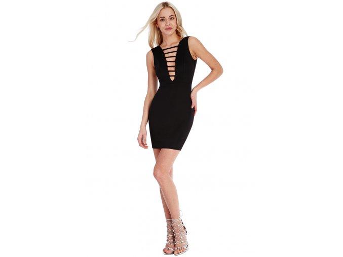 Společenské šaty Susy I černé