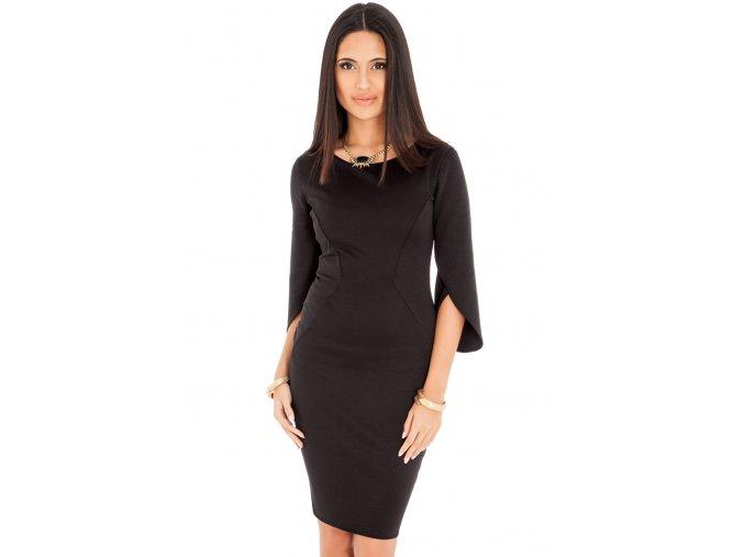 Společenské šaty Elodia černé