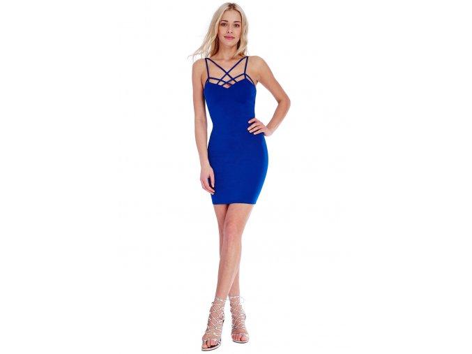 Společenské šaty Leisa modré