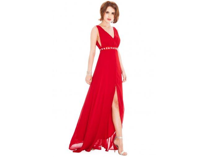 Plesové šaty Liberty červené