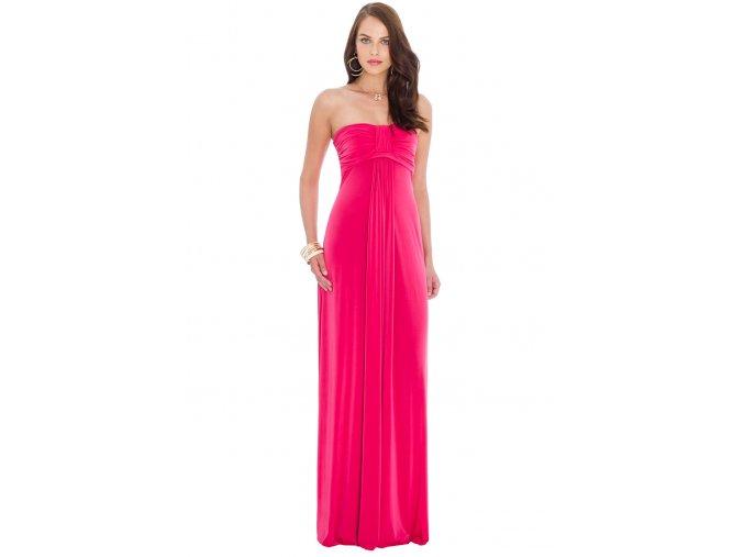 Plesové šaty Leontine fuchsiové