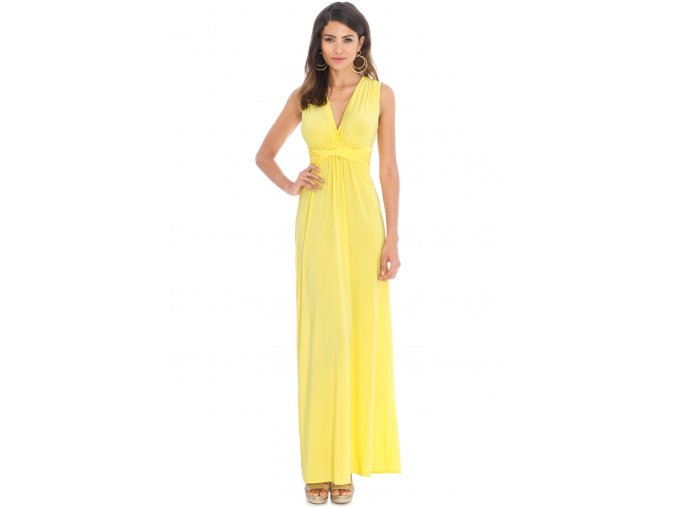 Plesové šaty Ashanti žluté