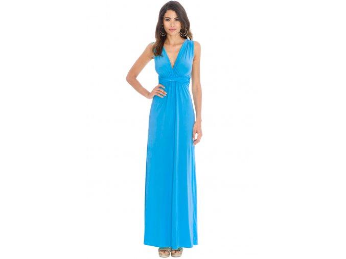 Plesové šaty Ashanti tyrkysové