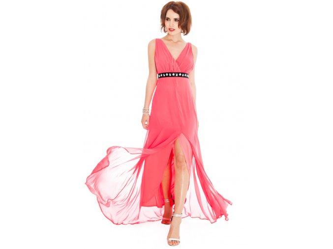 Plesové šaty Liberty lososové