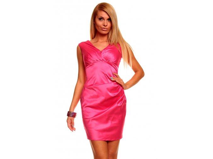Společenské šaty Valeri růžové