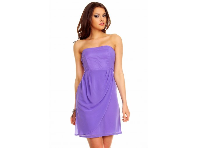 Společenské šaty Blanch fialové