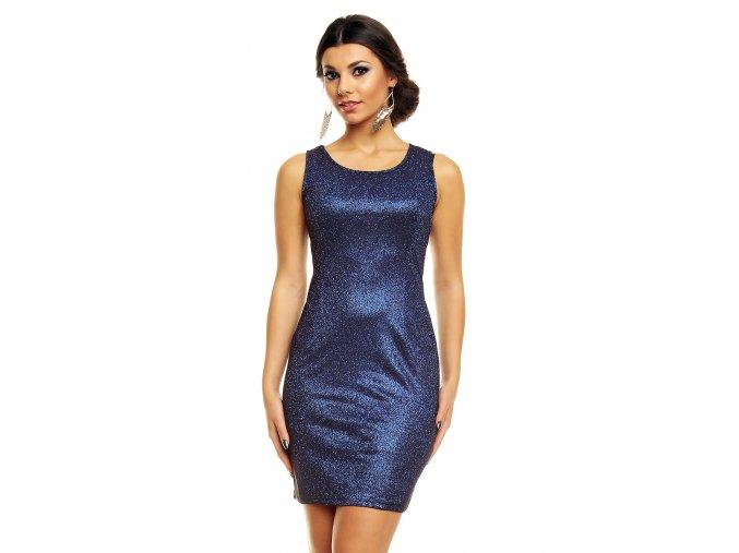 Společenské šaty Shara tmavě modré