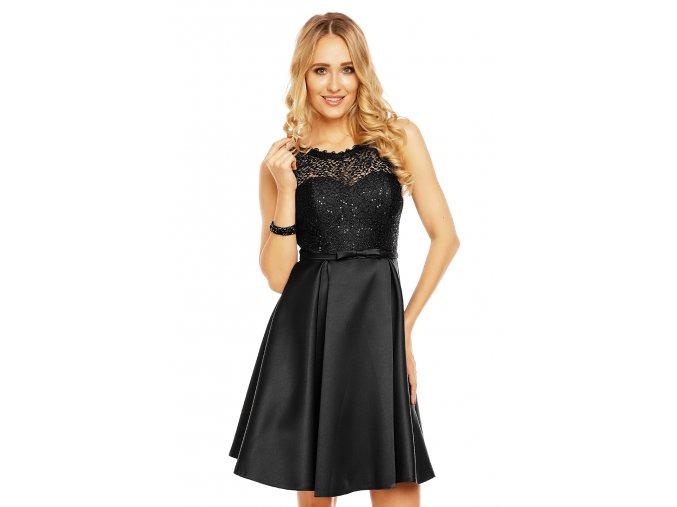 Společenské šaty Krysta černé