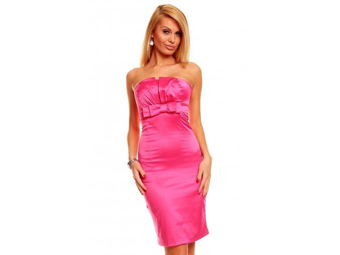 Společenské šaty Tara II růžové