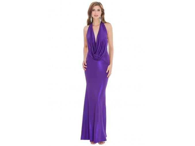 Plesové šaty Tiera fialové